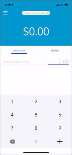 Blue GoPayment App QuickBooks Online