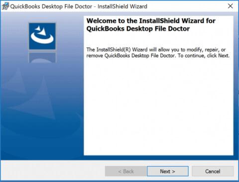 Install QuickBooks file doctor