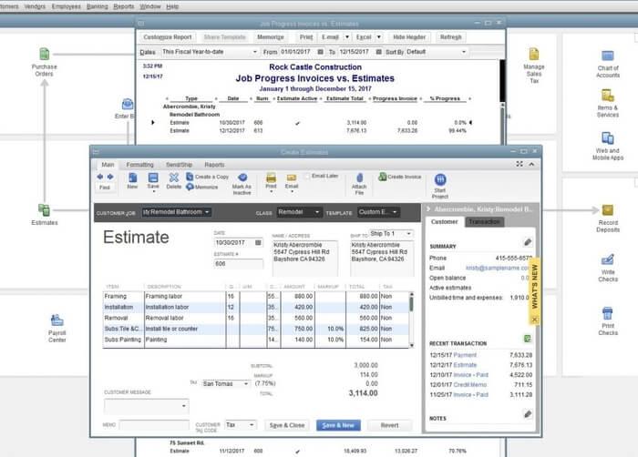 Job Costing QuickBooks Desktop