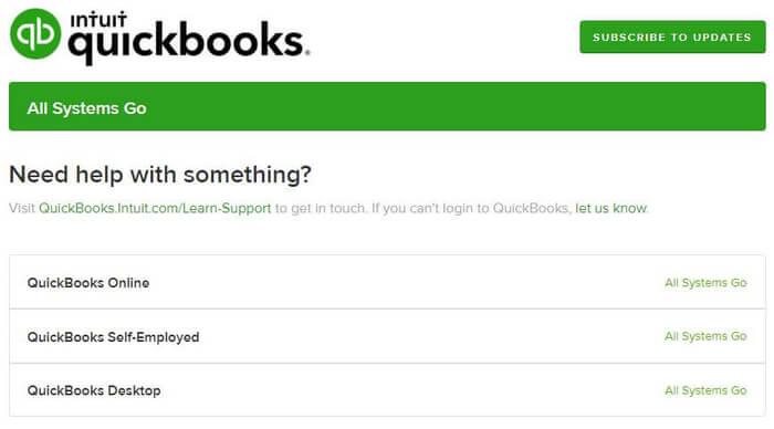 QuickBooks-Status