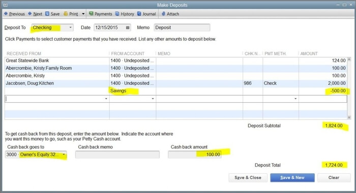 Record the Owner Investment in QuickBooks