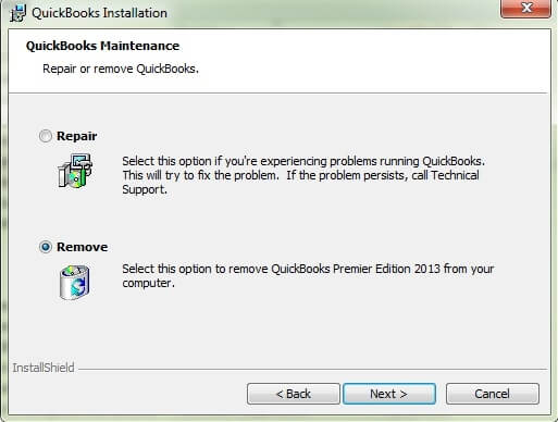 uninstall QuickBooks Desktop