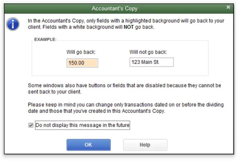 QuickBooks Accountant's Copy